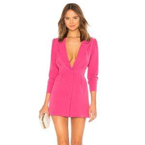 NWT Lovers + Friends City Blazer Dress Pink SizeXL